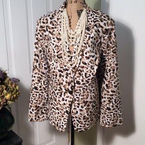 Classy Leopard Print Jacket🍁🍂